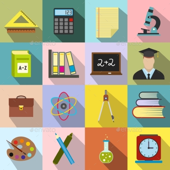 Education Flat Icons - Miscellaneous Icons