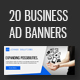 JIVAGO - Business Ad Banners - GraphicRiver Item for Sale