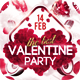 Valentine Flyer/Poster Vol.1 - GraphicRiver Item for Sale