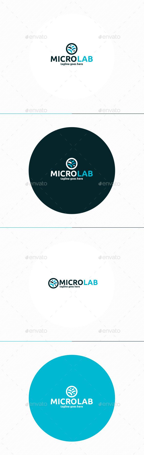 Micro Lab Logo - Symbols Logo Templates