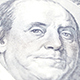 Benjamin Franklin Portrait On US Dollar - VideoHive Item for Sale