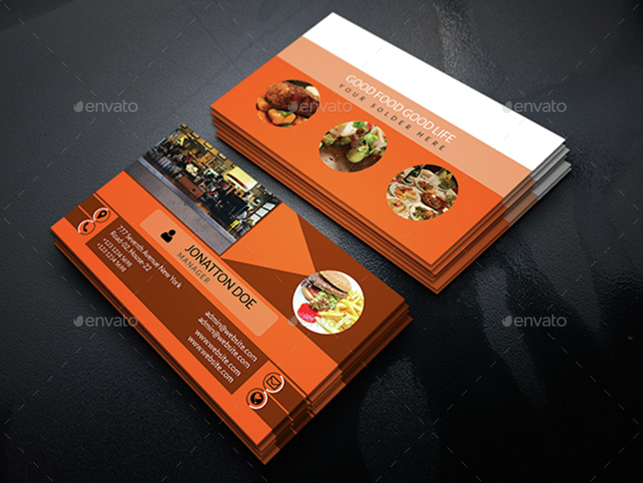 Restaurant business card template232 by newdesigner1985 graphicriver restaurant business card template232 business cards print templates screenshot1 screenshotg cheaphphosting Image collections
