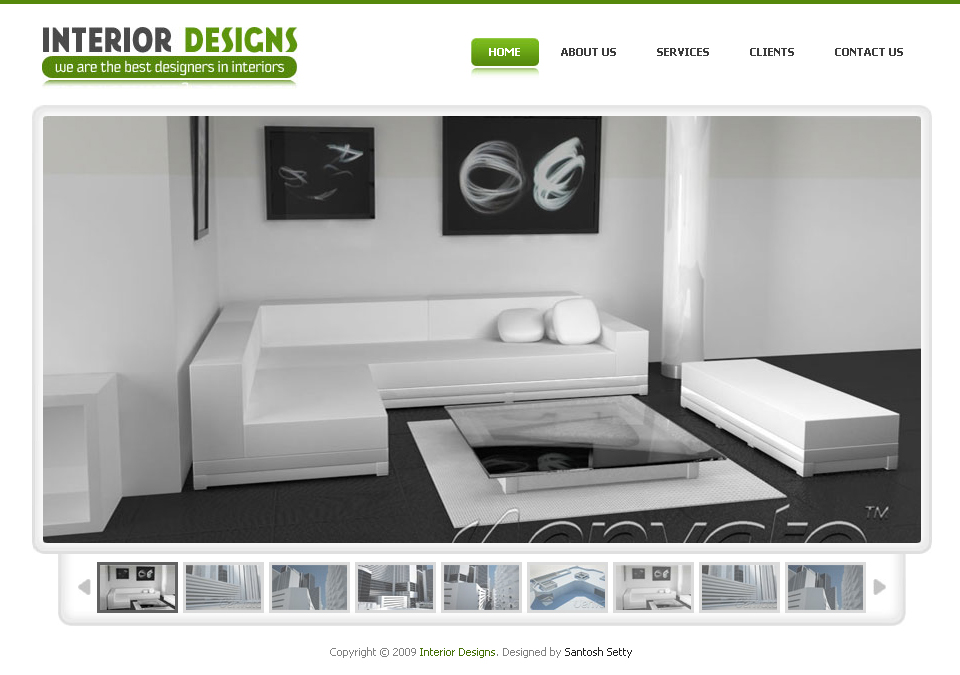 Free Download Interior Designs - Simple Pro Elegant Template Nulled Latest Version