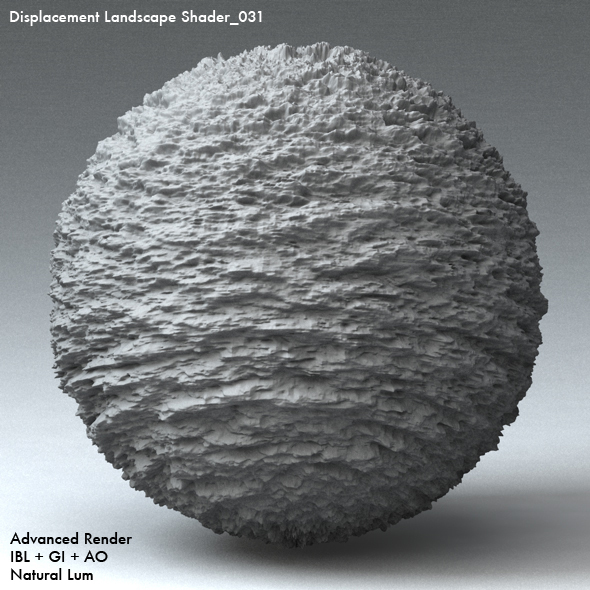 Displacement Landscape Shader_031 - 3DOcean Item for Sale