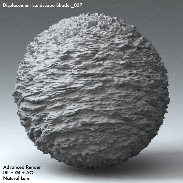 Displacement Landscape Shader_037 - 3DOcean Item for Sale
