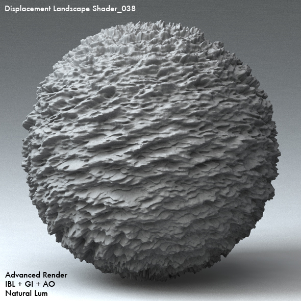 Displacement Landscape Shader_038 - 3DOcean Item for Sale