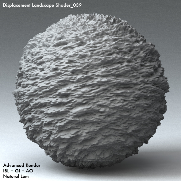 Displacement Landscape Shader_039 - 3DOcean Item for Sale