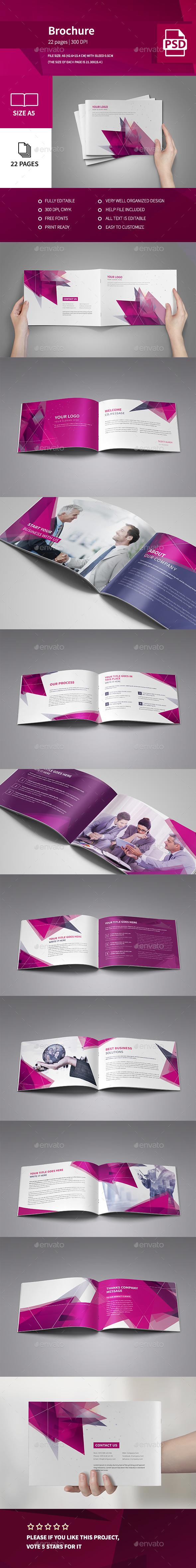 Corporate Colorful Modern Brochure 2016 - Corporate Brochures