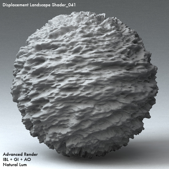 Displacement Landscape Shader_041 - 3DOcean Item for Sale