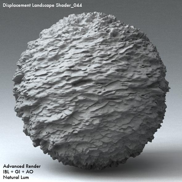 Displacement Landscape Shader_044 - 3DOcean Item for Sale