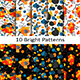 Set of Ten Bright Patterns - GraphicRiver Item for Sale