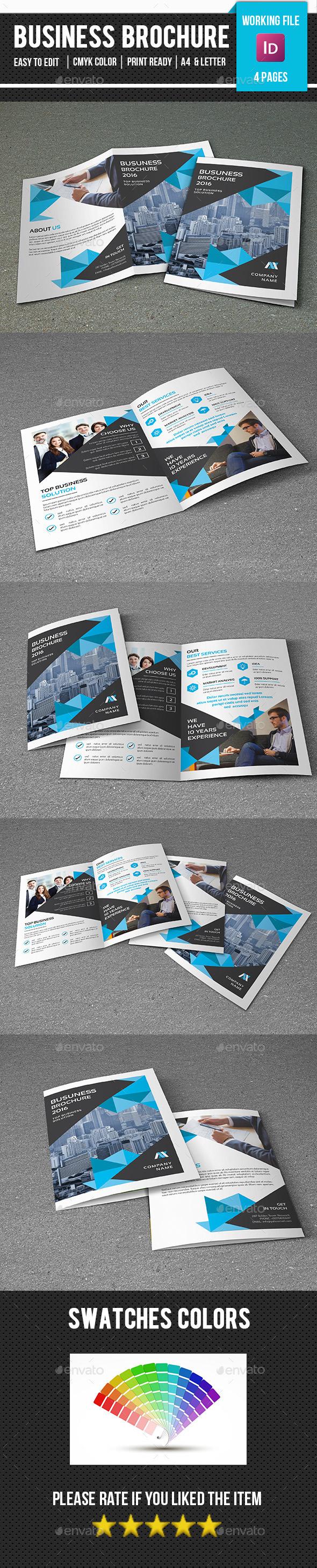 Business Bifold Brochure-V352 - Corporate Brochures