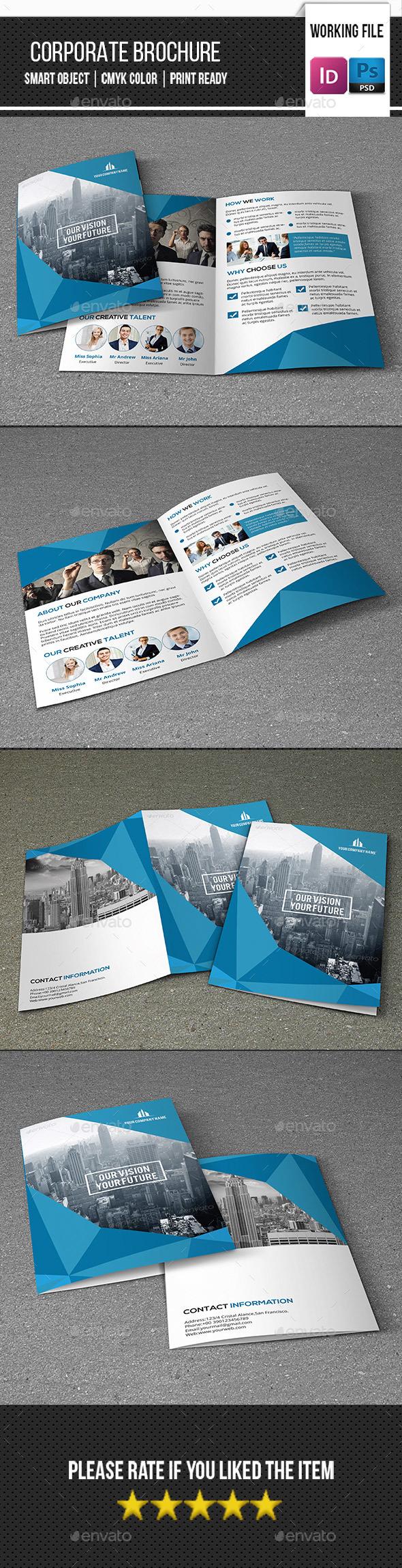 Corporate Bifold Brochure-V353 - Corporate Brochures