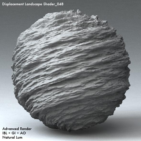 Displacement Landscape Shader_048 - 3DOcean Item for Sale