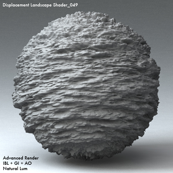Displacement Landscape Shader_049 - 3DOcean Item for Sale