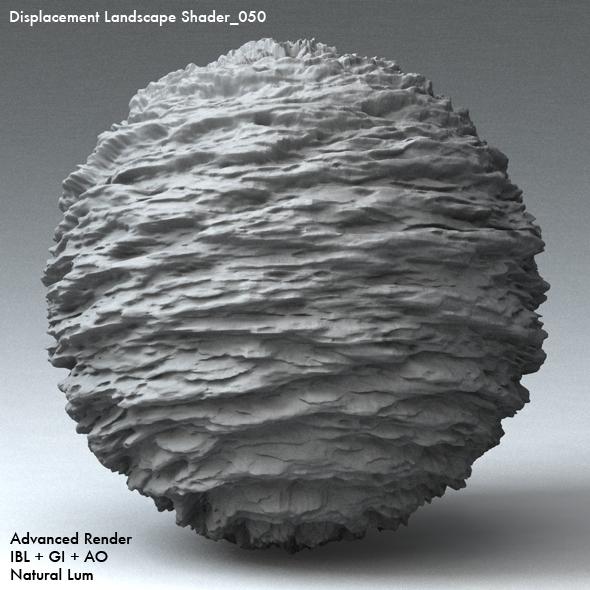 Displacement Landscape Shader_050 - 3DOcean Item for Sale