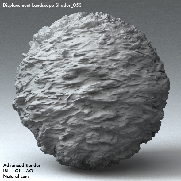 Displacement Landscape Shader_053 - 3DOcean Item for Sale