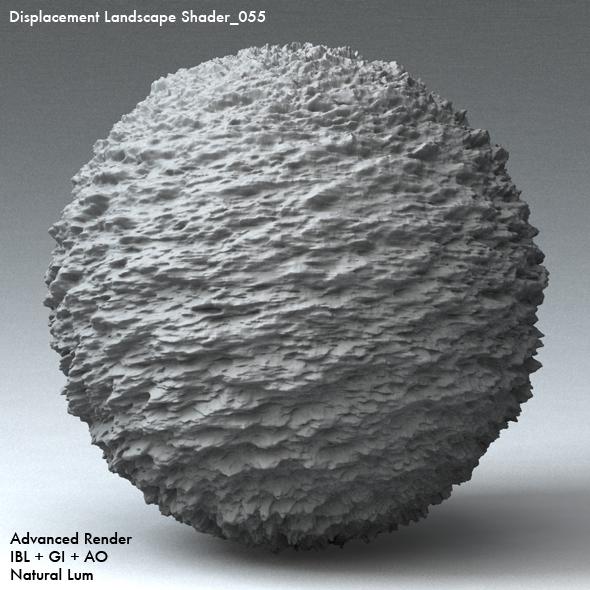 Displacement Landscape Shader_055