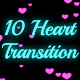 10 Heart Transition - VideoHive Item for Sale