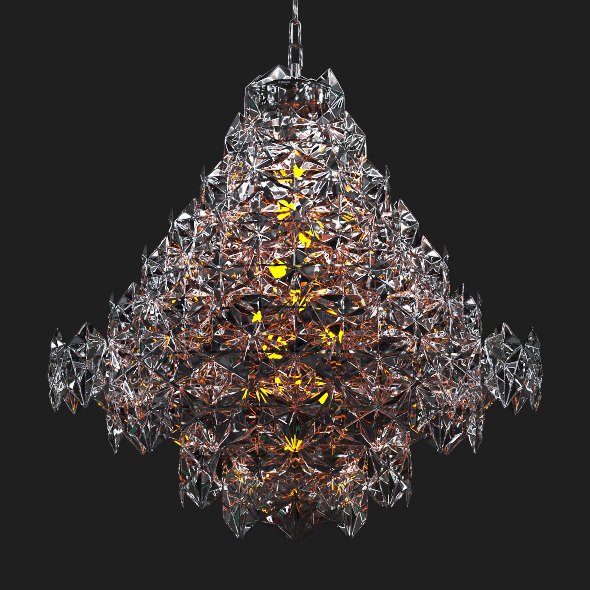 Hermitage EICHHOLTZ Chandelier  - 3DOcean Item for Sale