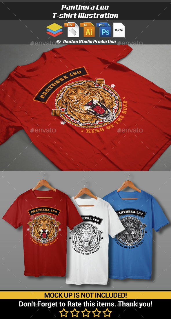 Panthera Leo - Sports & Teams T-Shirts