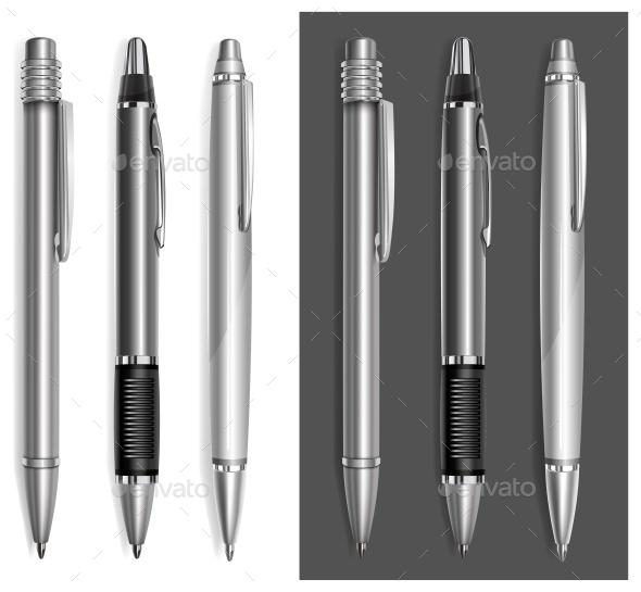 Gray Pens - Concepts Business