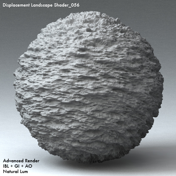 Displacement Landscape Shader_056 - 3DOcean Item for Sale