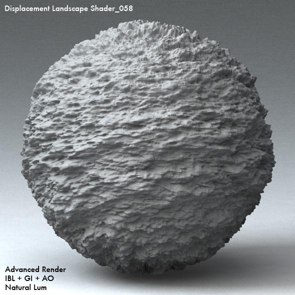 Displacement Landscape Shader_058 - 3DOcean Item for Sale
