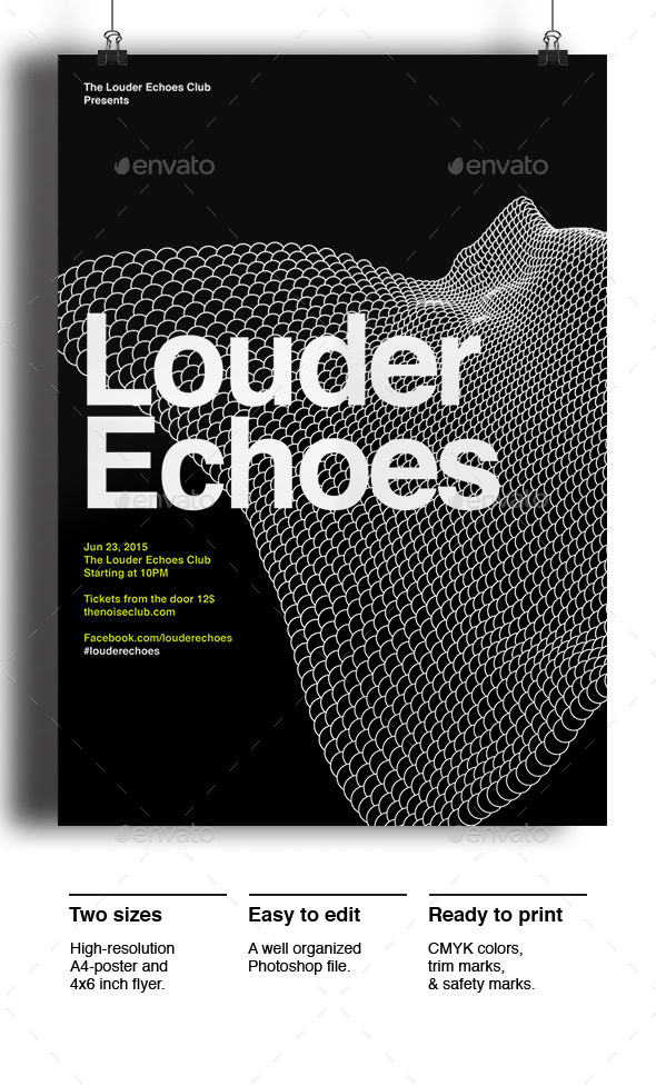 Louder Echoes - Events Flyers