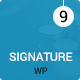 Signature - Responsive Onepage | Multipage Conference Event  WordPress Theme Nulled