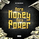 More Money Mixtape - CD Cover Artwork Template - GraphicRiver Item for Sale