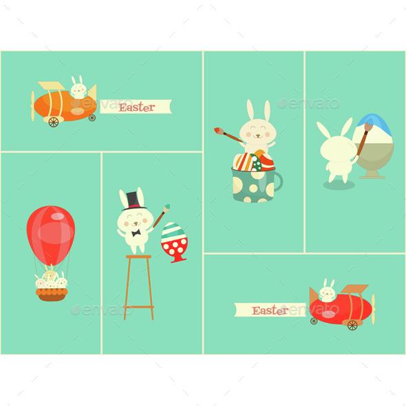 Easter Bunnyes - Seasons/Holidays Conceptual