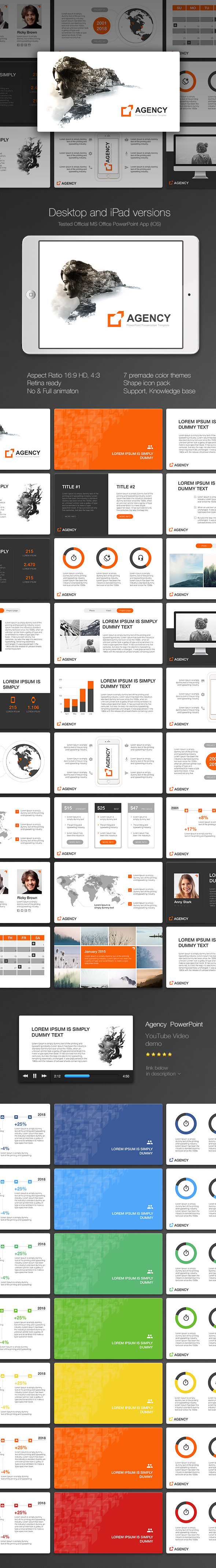 Agency PowerPoint - Creative PowerPoint Templates