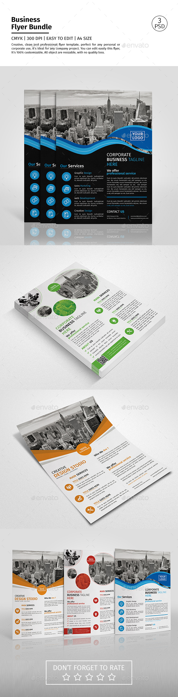 Corporate Flyer Bundle 09 - Corporate Flyers