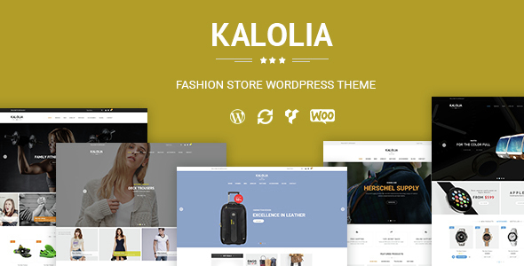 SNS Kalolia - Shop WordPress WooCommerce Theme