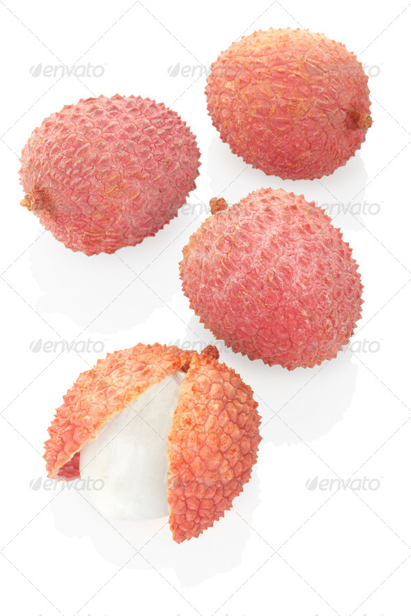 Lychees - Stock Photo - Images