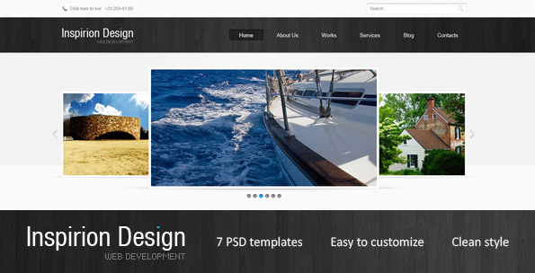 Free Download Inspirion Design Nulled Latest Version