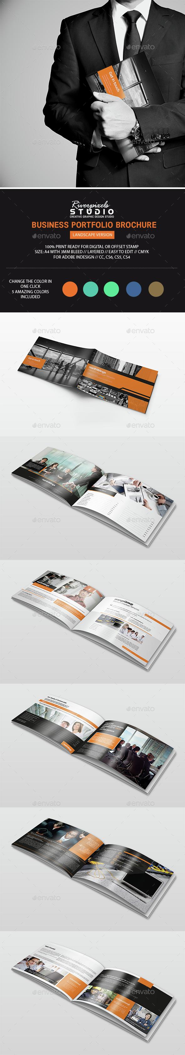 Business Portfolio Landscape Edition - Portfolio Brochures