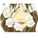 Face Of The Girl In Flowers - GraphicRiver Item for Sale