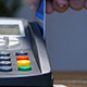 Swiping Card Through Credit Card Terminal - VideoHive Item for Sale