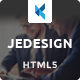 Jedesign - Multi-Purpose HTML Template - ThemeForest Item for Sale