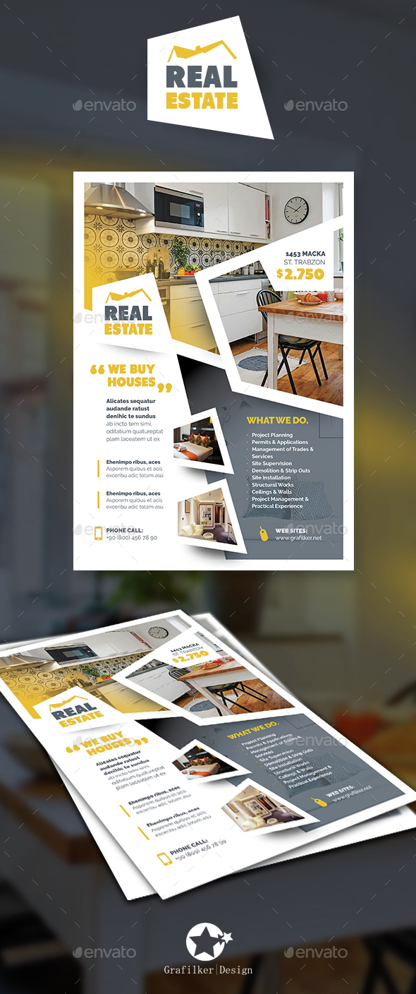 Real Estate Flyer Templates - Corporate Flyers