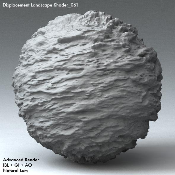 Displacement Landscape Shader_061 - 3DOcean Item for Sale