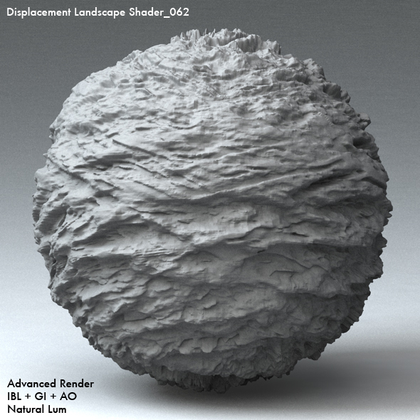 Displacement Landscape Shader_062 - 3DOcean Item for Sale