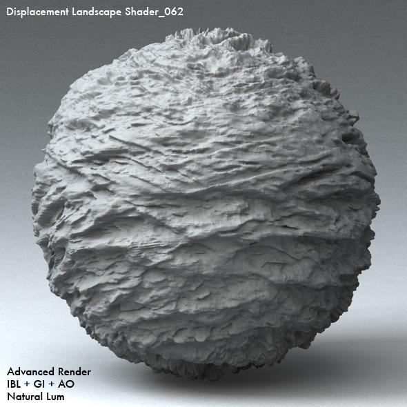 Displacement Landscape Shader_062 - 3DOcean Item for Sale