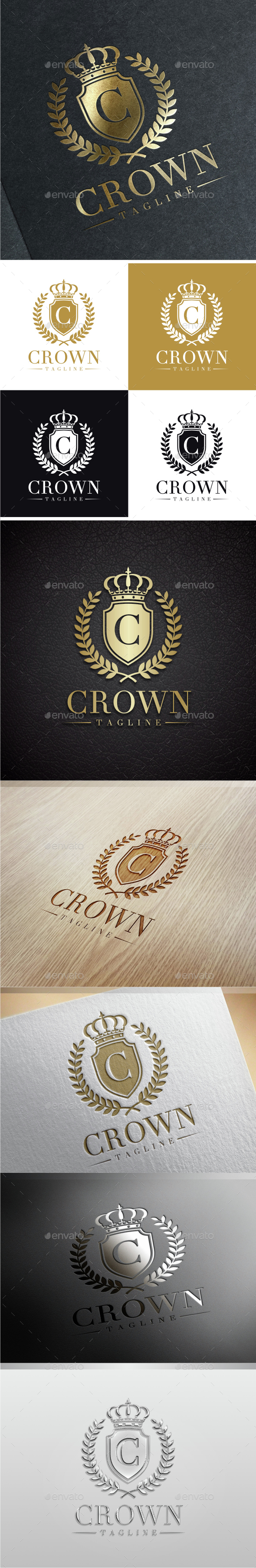 Crown Luxury - Letter C Logo - Crests Logo Templates