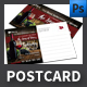 Wine Postcard Template - GraphicRiver Item for Sale