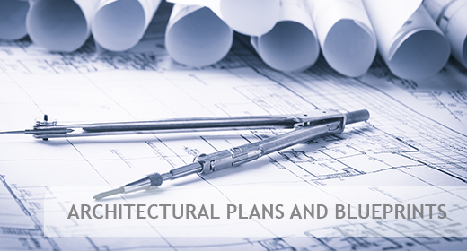 Blueprints and architectural plans
