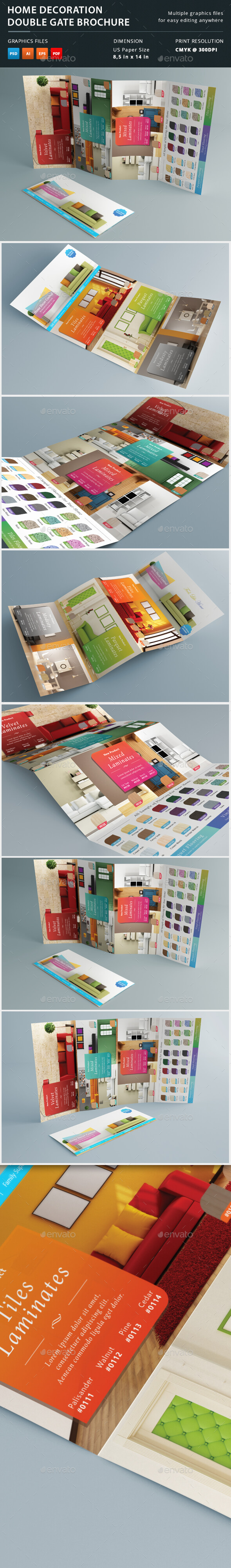 Home Decoration Double Gate Brochure - Catalogs Brochures