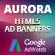 HTML5 Animated Banner Templates | «AURORA»